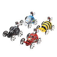 Mini Remote Control Stunt Vehicle Insect Toy (Random Color,4xAA)