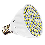 E14 3 W 60 SMD 3528 240 LM Natural White MR16 Spot Lights AC 110-130 / AC 220-240 V