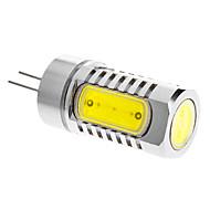 G4 - 7 Spotlights (Kald Hvit 600 lm- DC 12