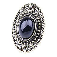 Frauen vintage wilden oval Edelstein-Ringe (gelegentliche Farbe)