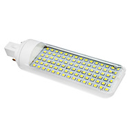 6W G24 LED Corn Lights T 90 SMD 3528 230-260 lm Cool White AC 85-265 V