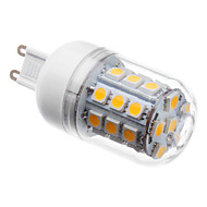 G9 5 W 30 SMD 5050 410 LM Warm White T Corn Bulbs AC 220-240 V