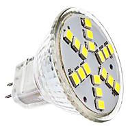 3W GU4(MR11) LED Spotlight MR11 18 SMD 2835 230 lm Cool White DC 12 / AC 12 V