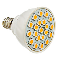 E14 3.5 W 21 SMD 5050 160-180 LM Warm White Spot Lights AC 85-265 V