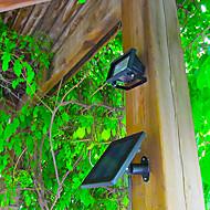 30-LED Solar Power Ultra Bright Garden Flood Spot Light Lawn Cool White Lamp