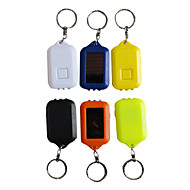 Key Chain Flashlights LED 1 Mode Lumens Rechargeable / Impact Resistant Everyday Use / Working - Others ,Black / Blue / Brown /