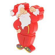 Cartoon plastique Père Noël modèle 16 Go USB