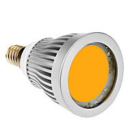 E14 7W 1xCOB 600-630lm 3000-3500K Warm White Light Spot LED Bulb (85-265V)