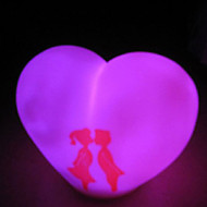 Lovers Christmas Nightlight (Random Color)