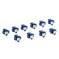 B8.5D 1x5050SMD 10-20LM Blue Light LED Bulb for Car (12V,10pcs)