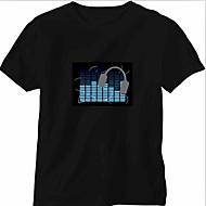 Korvaus Ääni ja musiikki Aktivoidut Spectrum VU Meter EL Visualizer (Non mukana T-shrit)