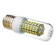E27 7W 120x3020SMD 280-300LM 6000K Super White Light Żarówka LED Corn (85-265V)