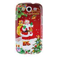 Babbo Natale Buon Natale modello di protezione Custodia Cover posteriore per Samsung Galaxy S3 I9300