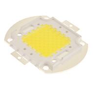 De potencia de 50W 5500-6000K Blanco frío Luz LED chip
