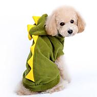 Camisola com Capuz - Inverno - Verde Terylene - para Cães - XS / M / XL / S / L