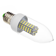E26/E27 7 W 118 SMD 3528 620-640 LM Warm White/Cool White Candle Bulbs AC 220-240 V