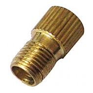 Presta to Schrader Valve Adapter Converter (Gold)