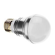 E26/E27 - 6 Globepærer (Warm White 500 lm- AC 85-265