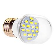 7W E26/E27 Żarówki LED kulki 16 SMD 5630 610 lm Zimna biel AC 220-240 V
