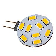 הנורה ספוט LED הלבן האור חם G4 2.5W 9x5730SMD 120 150LM 2800-3000K (12-24V)