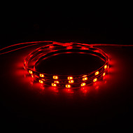 0.9M 10W 54x5630SMD 700LM Red Light LED Strip Light (DC 12V)