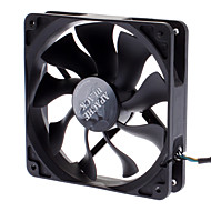 AK-FN058 12cm PWM Auto Speed Control S-FLOW IP54 Super Silent Fan for PC