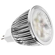 5W GU5.3(MR16) Spot LED MR16 5 450 lm Blanc Naturel AC 12 V