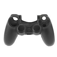 Szilikon védőtok tok Skin Cover a PS4 Controller (Fekete)