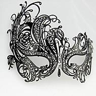 Maschera Feste/vacanze Costumi Halloween Nero Maschera Halloween / Carnevale Unisex Metallo