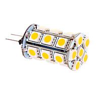 5W G4 LED Corn Lights T 24 SMD 5050 370 lm Warm White DC 12 V