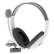 Auriculares estéreo Auriculares + Micrófono para Xbox 360 (negro)