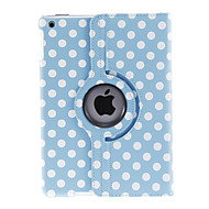 Round Dots Pattern 360 Degree Rotating PU Full Body Case with Stand for iPad Air (Assorted Colors)