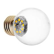 E27 1.5W 9x2835SMD 90LM 3000K 온난 한 공정한 판단 LED 지구 전구 (220V)