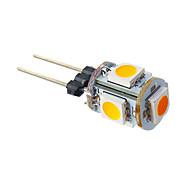 1W G4 LED Λάμπες Καλαμπόκι T 5 SMD 5050 70 lm Θερμό Λευκό DC 12 V