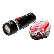 Eclairage de Velo Eclairage de Vélo / bicyclette / Avant Bike Light / Rear Bike Light LED Etanche 100 Lumens Batterie Rouge Cyclisme-