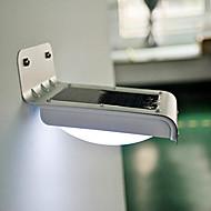 Solar 16 SMD White LED Motion Sensor PIR Wall Mount Garden Light (CIS-58100)