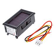 V099 0-99.9V Three-Wire Power Supply 4.0-30V Digital / Digital Voltmeter Headband Polarity Protection