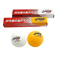 Double Happiness 6x ITTF Approvato 3 stelle Ping Pong Table Tennis Ball