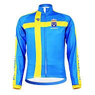 KOOPLUS® Jaqueta para Ciclismo Homens Manga Comprida Respirável / Mantenha Quente / Forro de Velocino / Permeável á Humidade / Vestível