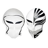 Máscara Inspirado por Bleach Ichigo Kurosaki Animé Accesorios de Cosplay Negro / Rojo PVC Hombre
