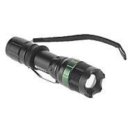 Torce LED / Torce (Messa a fuoco regolabile) - LED 3 Modo 240 Lumens AAA Cree XR-E Q5 Batteria -Campeggio/Escursionismo/Speleologia /