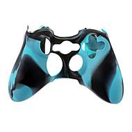 Wireless Controller Silicone para Xbox360 (azul)