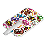 OUNUO 3200mAh Power Bank Exquisite Craft Wild Party Pattern 7mm Thickness External Battery for iPhone5/5S/5C