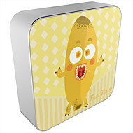 OUNUO Universal 8000mAh Cartoon Mango Monster Pattern Portable Power Bank External Battery (5V 2A Max,20cm)