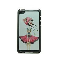 Halk Stil Kız Desen Hard Case iPod touch 4 için