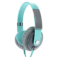 EP12 Fashionable 3.5 mm On-ear Headphone Headset with Mic (Green)