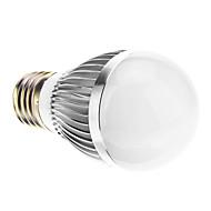 E26/E27 6.5 W SMD 580 LM Natural White Globe Bulbs AC 220-240 V