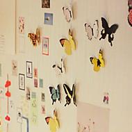 Vividly Butterfly Design Stickers(15 PCS,Random Color)