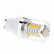 9W GU10 Bombillas LED de Mazorca T 27 SMD 5630 680-760 lm Blanco Cálido AC 85-265 V