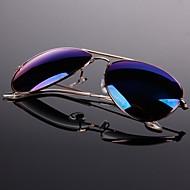 Color Reflective Glasses Sunglasses Green